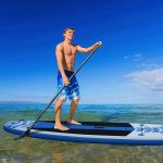 """Amazon.com : Inflatable Stand Up Paddle Board 10'6"""" Long 6"""" Thick 