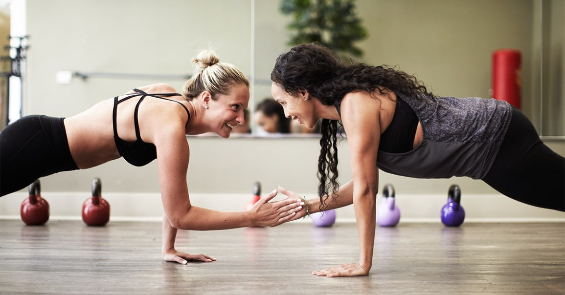 How to Build the Perfect Partner Workout with These 21 Moves