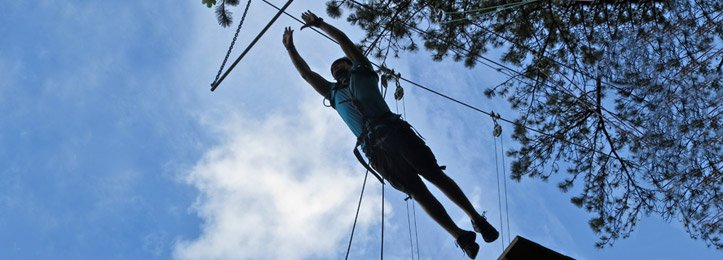 High Ropes Activities Course - The Adventurous Activity Company